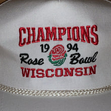 Load image into Gallery viewer, Vintage 1994 Wisconsin Badgers Rose Bowl Hat