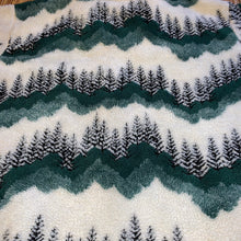 Load image into Gallery viewer, L(See Measurements) - Vintage Forest Tree Fleece