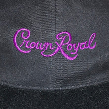 Load image into Gallery viewer, Vintage Crown Royal Suede Brimmed Strapback Hat