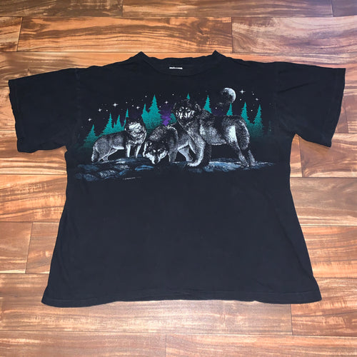 XL - Vintage Wolf Pack Shirt