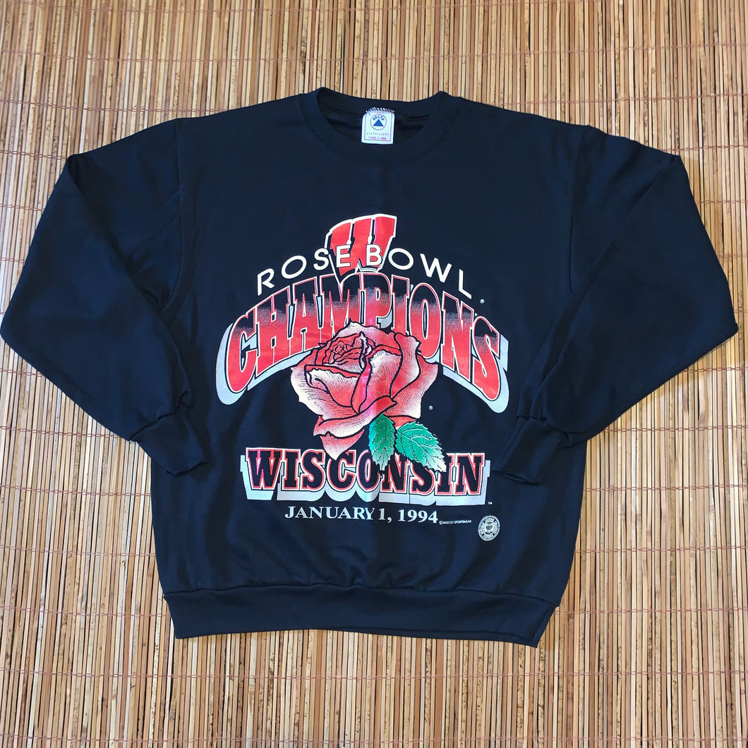 L - Vintage 1994 Wisconsin Badgers Rose Bowl Sweater