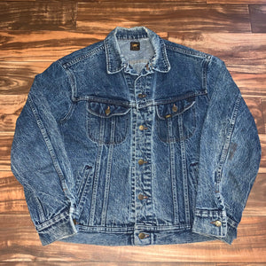 L - Vintage Lee Denim Button Jacket