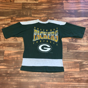 M - Vintage 1994 Green Bay Packers 1/2 Sleeve Shirt