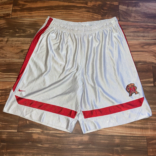 L/XL - Vintage/Early 2000s Nike Team Maryland Terrapins Shorts