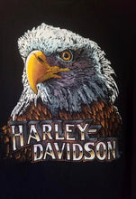Load image into Gallery viewer, L - Vintage 1980s Harley Davidson 3D Emblem Shirt