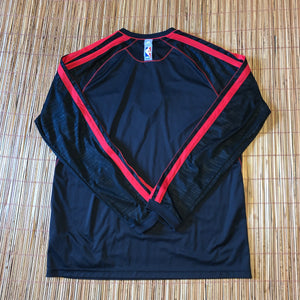 XL - Chicago Bulls Adidas Long Sleeve Shirt
