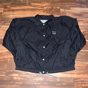Youth XL - Vintage 90s Lined Nike Button Jacket