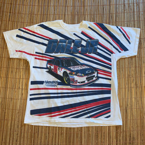 XXL - Dale Earnhardt Jr Nascar All Over Print Shirt