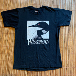 M/L - Vintage Wisconsin Loon Shirt