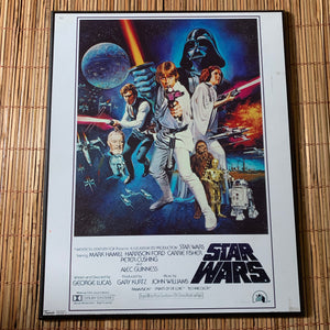 2007 Star Wars 1977 Original Movie Poster Reprint