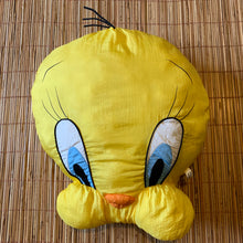 Load image into Gallery viewer, Vintage 1994 Tweety Bird Pillow