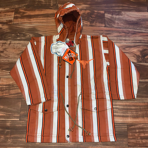 M - Vintage Texas Longhorns 3/4 Sleeve Canvas Jacket NWT