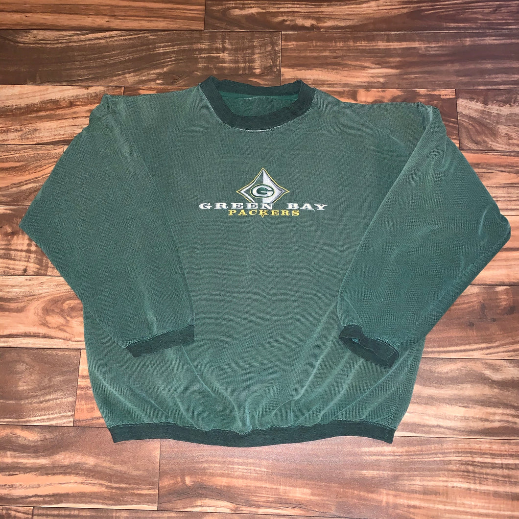 XL - Vintage Green Bay Packers Crewneck