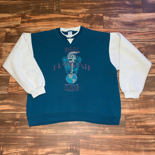 XL - Vintage Hawaii Crewneck