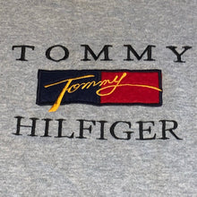 Load image into Gallery viewer, XL - Vintage Tommy Hilfiger Embroidered Bootleg Crewneck