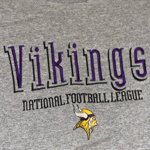 L - Vintage 90s Minnesota Vikings Sweater