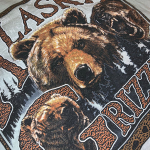 L/XL - Vintage 2000 Alaska Grizzly Bear Shirt