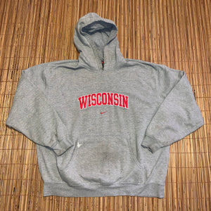 XXL - Nike Wisconsin Badgers Travis Scott Style Hoodie