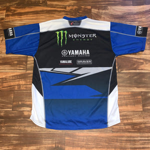 L - Yamaha Official Team Wear Limited Edition Jersey Shirt