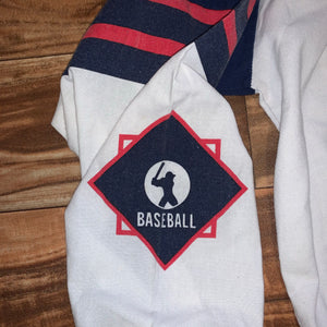M/L - Vintage Baseball Long Sleeve Shirt