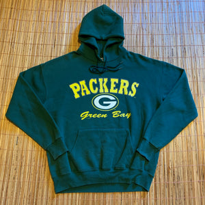 L - Vintage Green Bay Packers Lee Hoodie