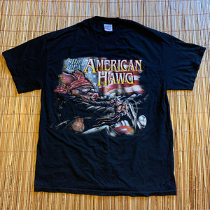 L - Great American Hawg Biker Shirt