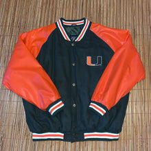 Load image into Gallery viewer, XL - Steve & Barry's Miami Hurricanes Jacket