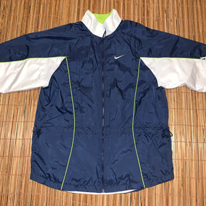 L - Nike Back Spellout Windbreaker