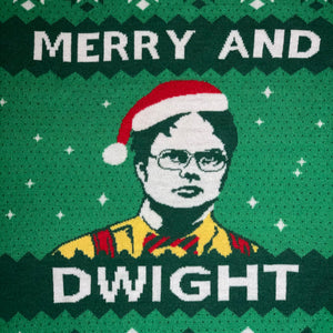 Women's XXL - Merry And Dwight The Office Sweater