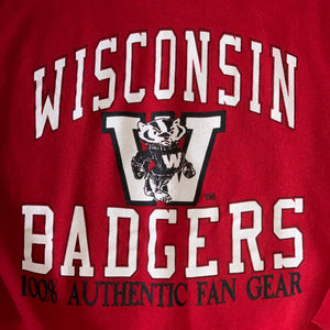 L(See Measurements) - Vintage 90s Badgers Sweater