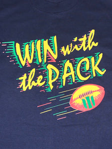 L - Vintage Win With The Pack Packers Shirt