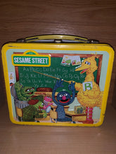 Load image into Gallery viewer, Vintage 1979 Sesame Street Lunch Box