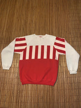 Load image into Gallery viewer, L - Vintage Red & White Striped Sweater