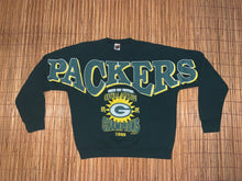 Load image into Gallery viewer, XL - Vintage 1995 Packers Chest Spellout Sweater