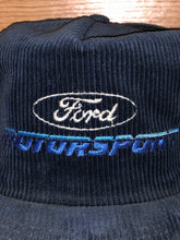 Load image into Gallery viewer, Vintage Corduroy Ford Motorsport Hat