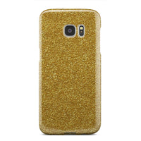 Gold Cell Phone Case realistic gold dust tone pattern for iPhone and Galaxy