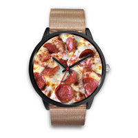 Pepperoni and Cheese Pizza Watch for Pizza Lovers