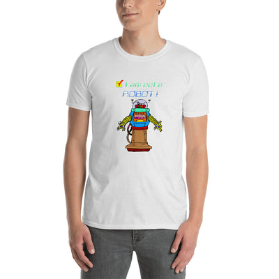 not a robot shirt