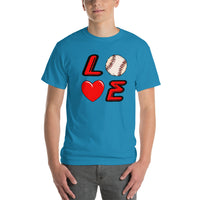 Love Baseball Icon Shirt Short-Sleeve T-Shirt