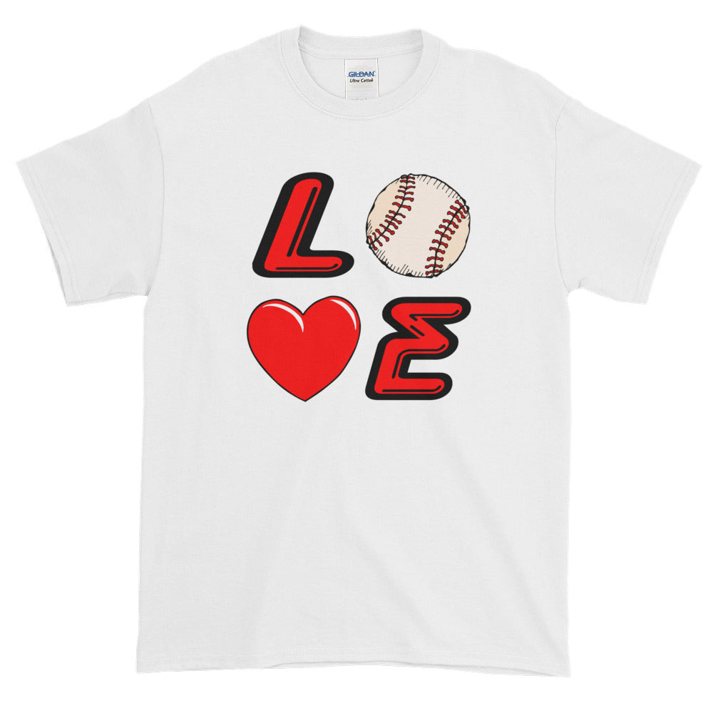 love baseball icon shirt