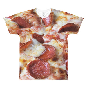 pepperoni and cheese pizza t-shirt