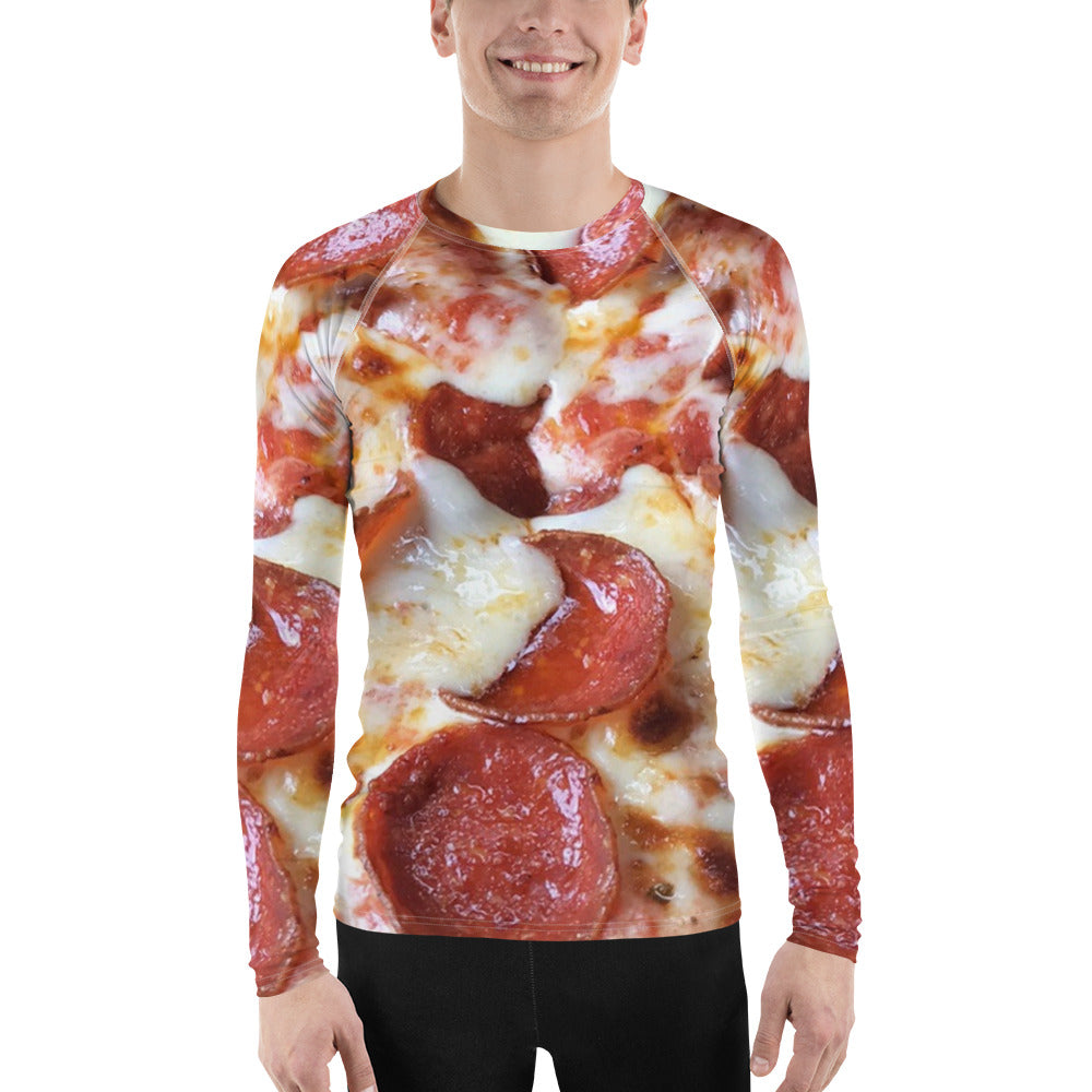 long sleeve pizza shirt