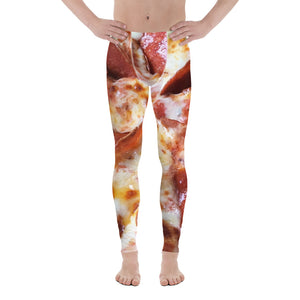 pepperoni and cheese leggings