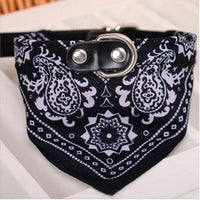 Nylon HandsomePet Dog Scarf Collars Adjustable Puppy Triangular Bandana Pet Dog Cat Tie Collar 4 Colors S-XL For Chihuahua