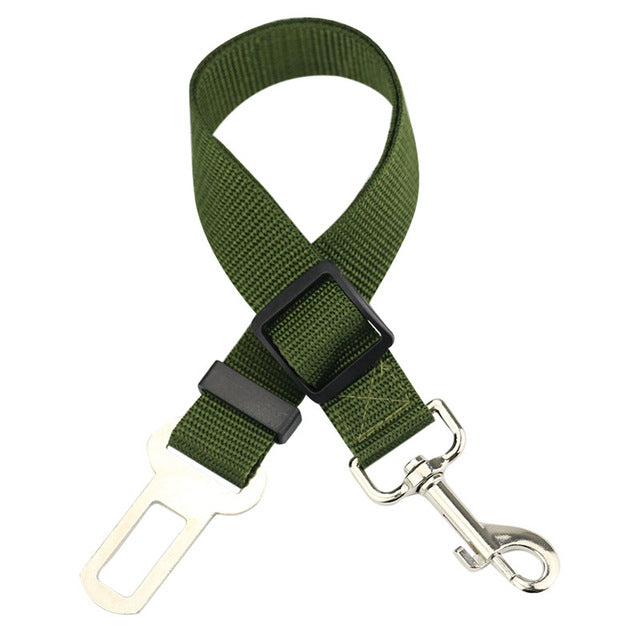 Dog Seat Belt Puppy Dog Seat Belts Harness Lead Clip Pet Dog Supplies Safety Lever Auto Traction Products