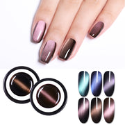 BORN PRETTY 5ml Magnetic 5D Cat Eye's Gel Nail Polish Starry Sky Jade Effect Soak Off UV Gel Varnish Manicure Nail Art Lacquer