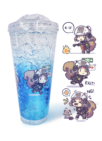 Arknights | Frosty Mug | 吸管杯