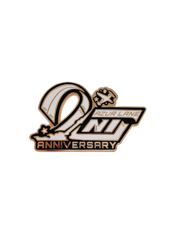 Azur Lane | 2nd Anniversary Pin | 2nd Anniv | 二周年胸针