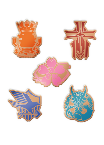 Azur Lane | Pin | Five Factions | 别针徽章