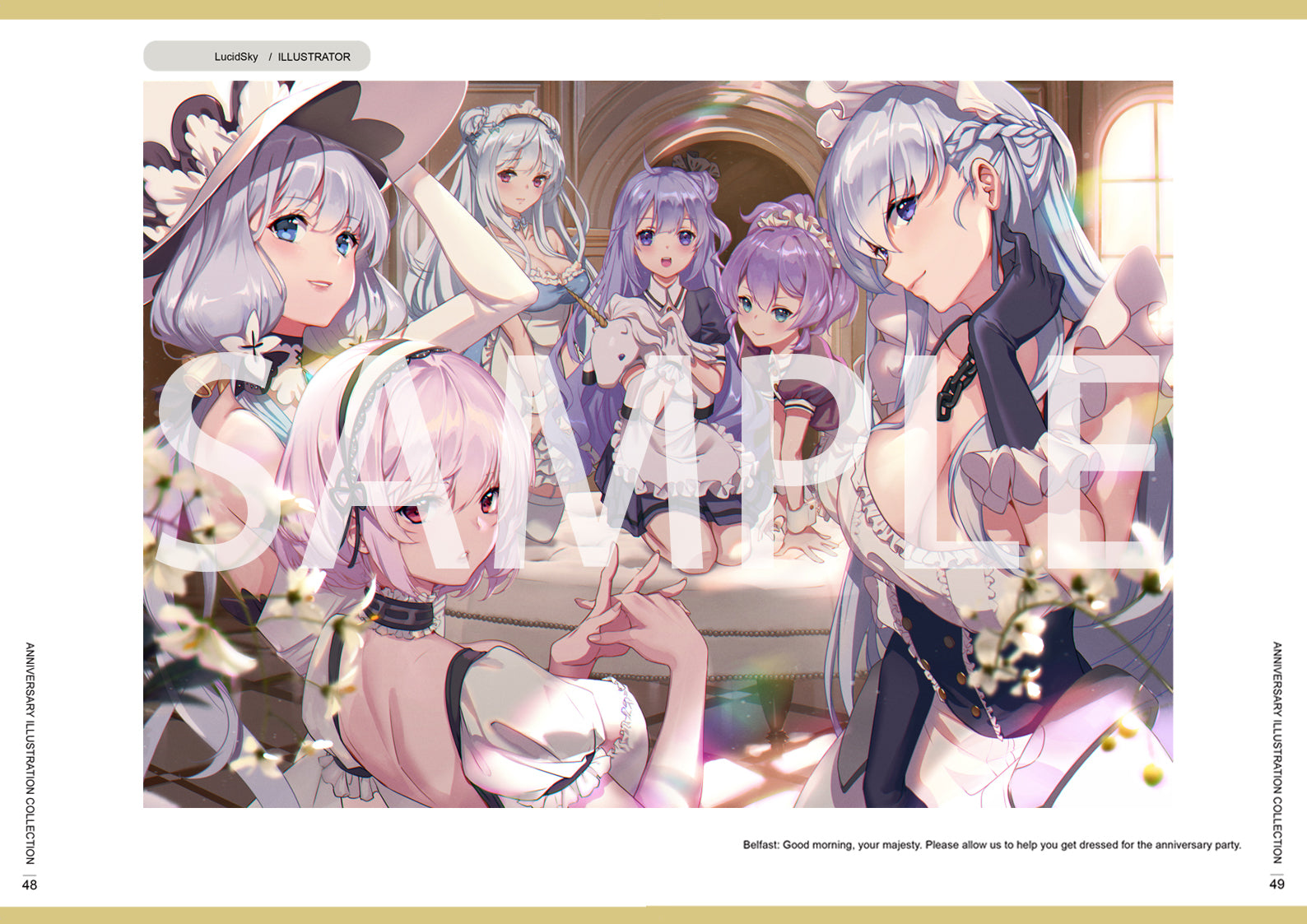 Azur Lane 1st Anniversary Illustration Collection
